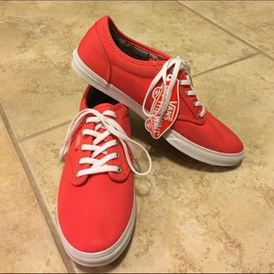 Vans Atwood low rise trainers cayenne/fudge shoes